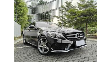 2015 Mercedes Benz C-Class AMG Sport - 2016 Hitam Tangan Pertama