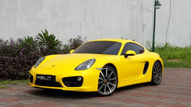 2013 Porsche Cayman 2.7 - Odo low
