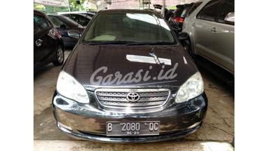 2005 Toyota Corolla Altis G - Terawat Siap Pakai Unit Istimewa