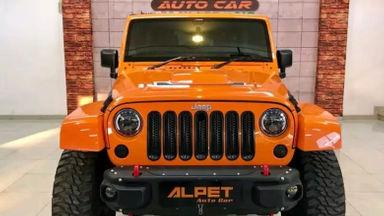 2012 Jeep Wrangler Jk Sahara 3.6 Pentastar - Istimewa