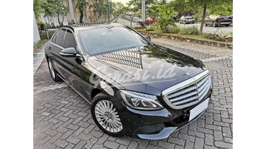 2015 Mercedes Benz C-Class Exclusive - Hitam Tangan Pertama