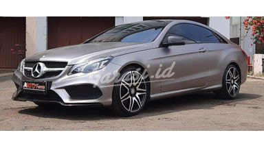 2014 Mercedes Benz E-Class E250 Coupe Facelift - Mulus Siap Pakai