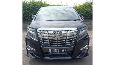 2015 Toyota Alphard SC limited edition