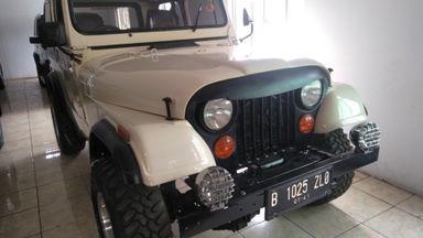 1982 Jeep CJ - Barang Bagus Siap Pakai