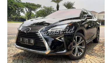 2017 Lexus RX 200t luxury atpm - Mobil Pilihan