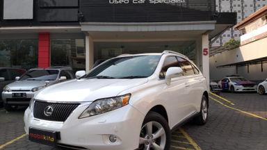 2012 Lexus RX Rx CBU - Bekas Berkualitas