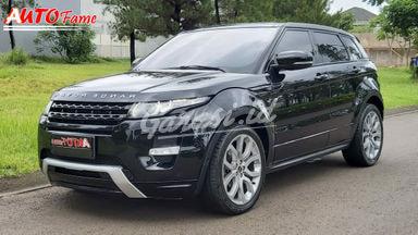 2012 Land Rover Range Rover Evoque Si4 Dynamic