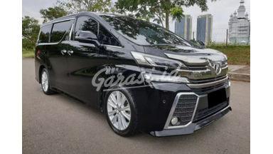 2015 Toyota Vellfire Z - Mobil Pilihan