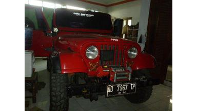 1981 Jeep CJ 4X4 - Terawat Siap Pakai