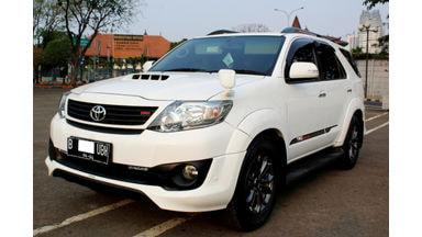 2014 Toyota Fortuner G - FORTUNER G TRD DIESEL AT 2014