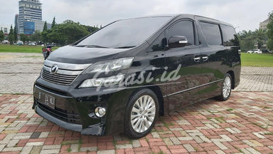 2012 Toyota Vellfire ZG - Istimewa Siap Pakai