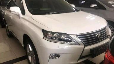 2012 Lexus RX 270 - Istimewa