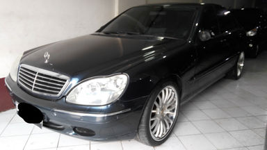 2001 Mercedes Benz S-Class 3.8 - SIAP PAKAI