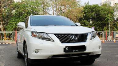 2011 Lexus RX - KONDISI MOBIL APIK SANGAT TERAWAT TINGGAL PAKAI AJA