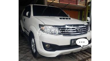 2013 Toyota Fortuner G