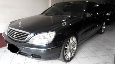 2001 Mercedes Benz S-Class 350 - SIAP PAKAI!!!
