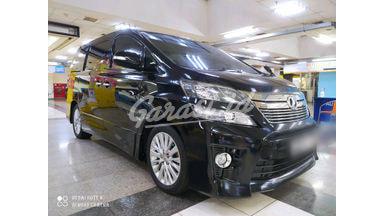 2013 Toyota Vellfire ZG AUDIOLES
