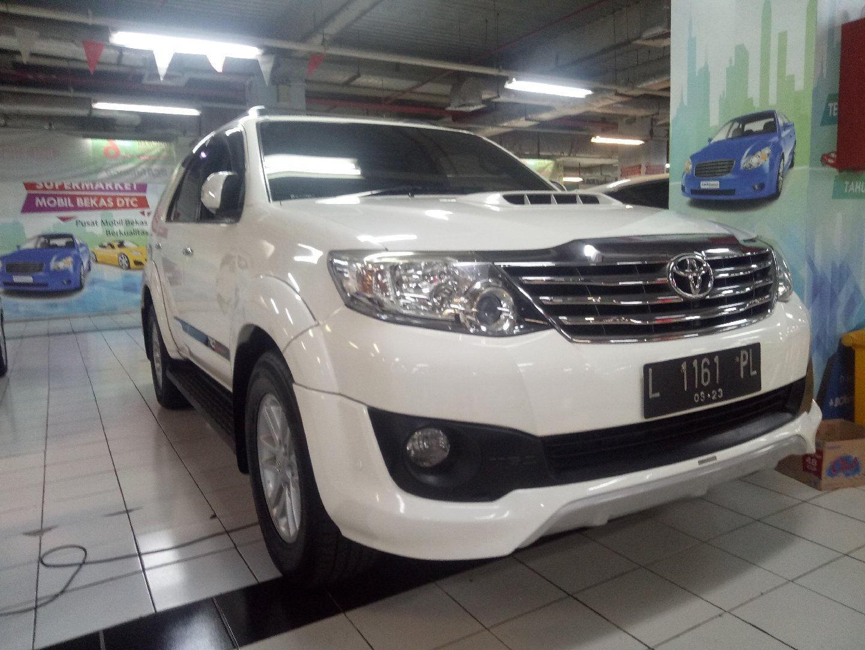 2013 Toyota Fortuner VNT TRD