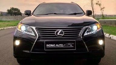 2012 Lexus RX - SIAP PAKAI!