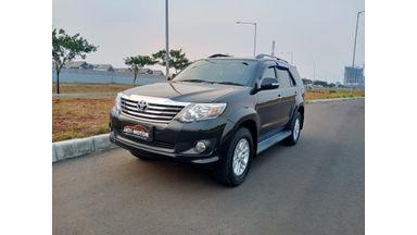 2012 Toyota Fortuner G - Pemakaian Pribadi DP Murmer