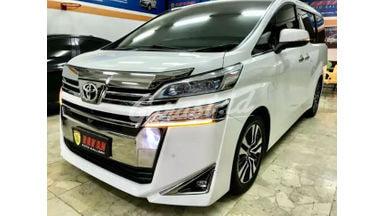 2018 Toyota Vellfire G