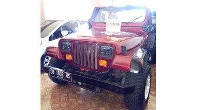 1985 Jeep Willys 4.0 - Unit Istimewa