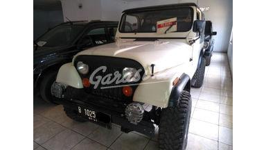 1982 Jeep CJ 4x4 - Siap Pakai
