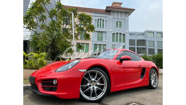 2014 Porsche Cayman 2.7 PDK 981 Coupe - Red On Beige Istimewa Service Record