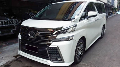 2015 Toyota Vellfire ZG Audioless - Mobil Pilihan