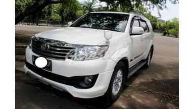 2012 Toyota Fortuner G - SANGAT TERAWAT SIAP PAKAI SEKALI