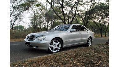 2002 Mercedes Benz S-Class at - SIAP PAKAI!