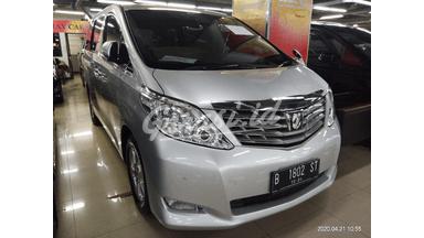 2009 Toyota Alphard X - Tangan Pertama Mulus Rapi Terpelihara