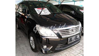 2012 Toyota Kijang Innova V - Terawat Mulus
