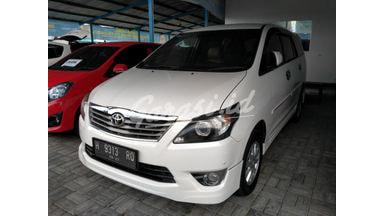 2013 Toyota Kijang Innova V - Terawat Siap Pakai