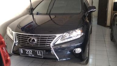 2012 Lexus RX 270 - Kondisi Istimewa