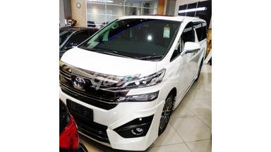 2017 Toyota Vellfire G ATPM - Mobil Pilihan