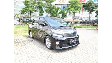 2014 Toyota Vellfire Z welcab - Mulus Langsung Pakai