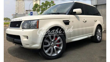 2010 Land Rover Range Rover Sport V8 Supercharged 4x4 ATPM - Istimewa Ready Credit