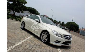 2012 Mercedes Benz E-Class 250 - Good Condition Terawat & Apik