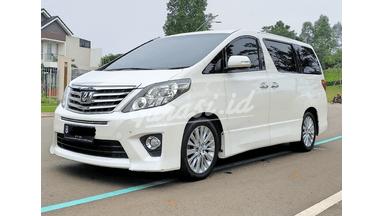 2014 Toyota Alphard 2.4 SC Premium Sound - Kondisi siap pakai