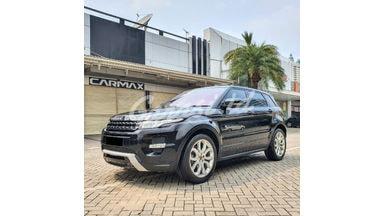 2012 Land Rover Range Rover Evoque Panoramic