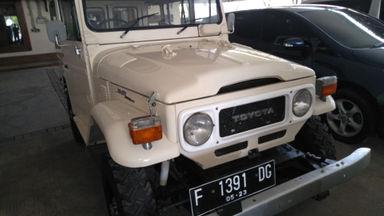 1979 Toyota Land Cruiser HARDTOP - Unit Super Istimewa