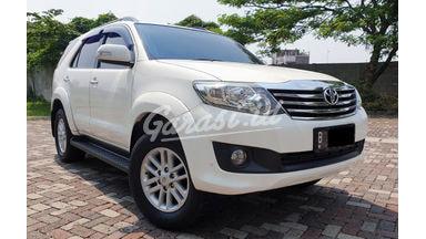 2012 Toyota Fortuner G MT Diesel