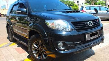2015 Toyota Fortuner G trd vnt - tukar tambah bisa