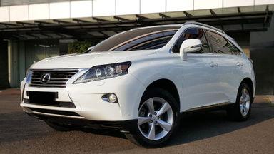 2012 Lexus RX 270 HK Version - Tdp 145jt,  putih Interior Hitam. Sunroof
