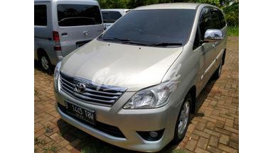 2012 Toyota Kijang Innova G - Terawat Siap Pakai Unit Istimewa