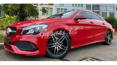 2018 Mercedes Benz CLA 200 SPORT AMG ATPM - Facelift Red On Black Sun Roof