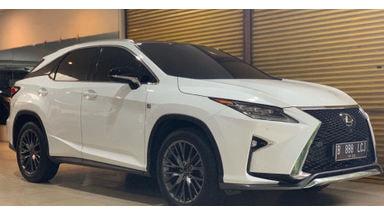 2017 Lexus RX Sport - Kondisi Ciamik
