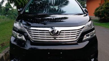 2008 Toyota Vellfire Z Premium Sound - Hitam Terawat (s-1)