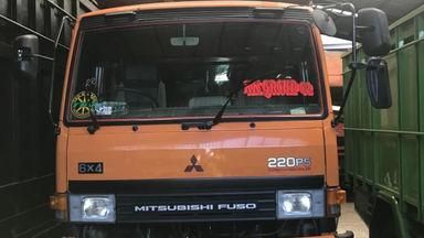 2018 Mitsubishi Fusso Dump Truck FN527 MS MT (6x4) - Berkualitas istimewa